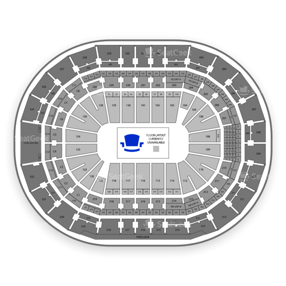 Amalie Arena Seating Chart Family