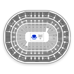 Amalie Arena Seating Chart Comedy