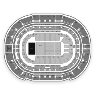 Amalie Arena Seating Chart Concert