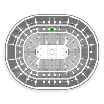 Tampa Bay Lightning at Amalie Arena Section 201 View