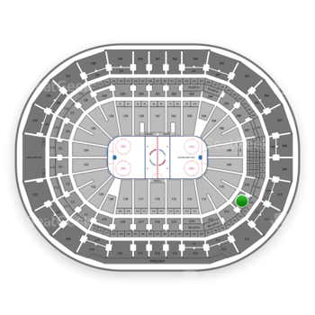 Tampa Bay Lightning at Amalie Arena Section 211 View
