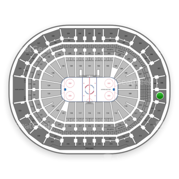 Tampa Bay Lightning at Amalie Arena Section 309 View