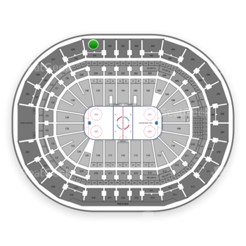 Tampa Bay Lightning at Amalie Arena Section 329 View