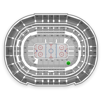 Tampa Bay Lightning at Amalie Arena Section 112 View
