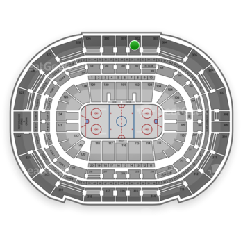Tampa Bay Lightning at Amalie Arena Section 302 View
