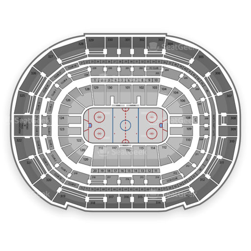 Tampa Bay Times Forum Seating Chart