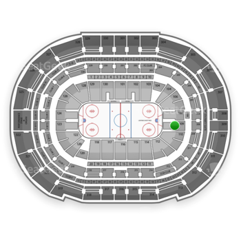 Tampa Bay Lightning at Amalie Arena Section 109 View