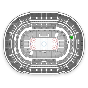 Tampa Bay Lightning at Amalie Arena Section 207 View