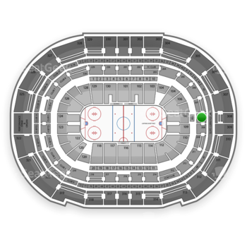 Tampa Bay Lightning at Amalie Arena Section 208 View