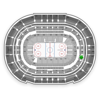 Tampa Bay Lightning at Amalie Arena Section 210 View