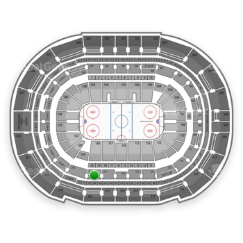 Tampa Bay Lightning at Amalie Arena Section 218 View