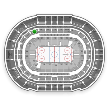 Tampa Bay Lightning at Amalie Arena Section 228 View
