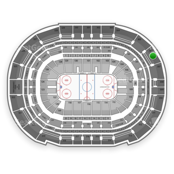 Tampa Bay Lightning at Amalie Arena Section 306 View