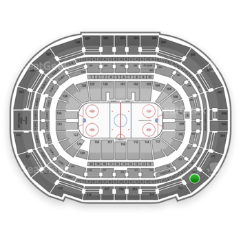 Tampa Bay Lightning at Amalie Arena Section 312 View