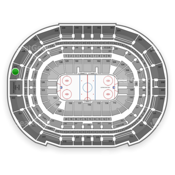 Tampa Bay Lightning at Amalie Arena Section 325 View