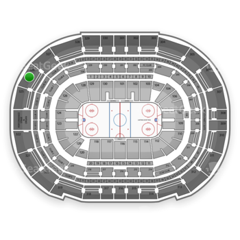 Tampa Bay Lightning at Amalie Arena Section 326 View