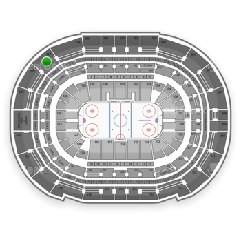Tampa Bay Lightning at Amalie Arena Section 327 View