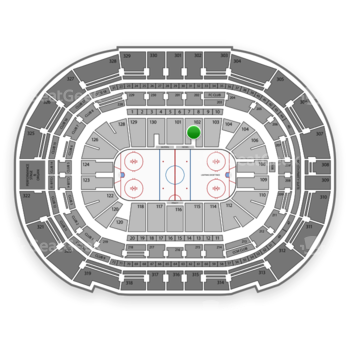 Tampa Bay Lightning at Amalie Arena Section 102 View