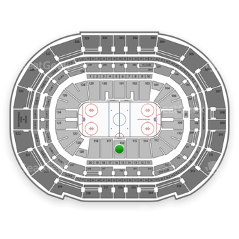 Tampa Bay Lightning at Amalie Arena Section 116 View