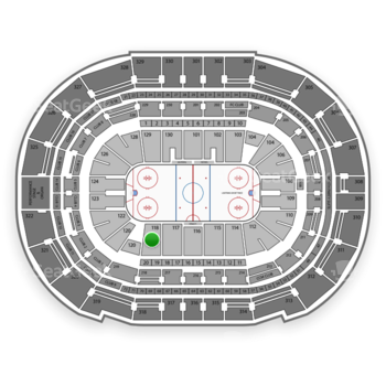 Tampa Bay Lightning at Amalie Arena Section 118 View