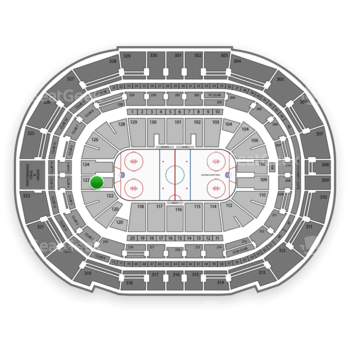Tampa Bay Lightning at Amalie Arena Section 123 View