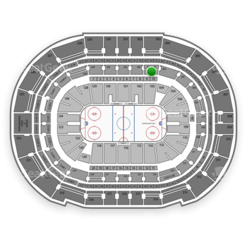 Tampa Bay Lightning at Amalie Arena Section 203 View