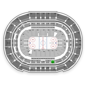 Tampa Bay Lightning at Amalie Arena Section 214 View