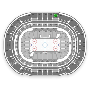 Tampa Bay Lightning at Amalie Arena Section 303 View