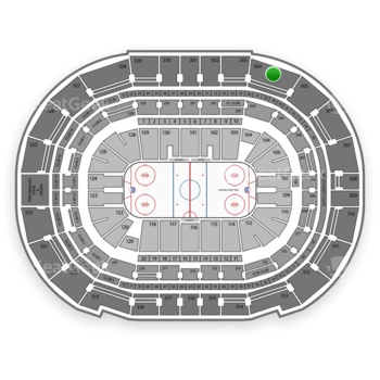 Tampa Bay Lightning at Amalie Arena Section 304 View