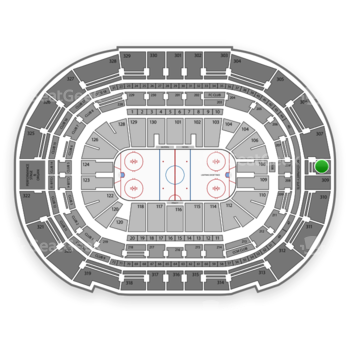 Tampa Bay Lightning at Amalie Arena Section 308 View