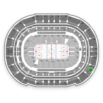 Tampa Bay Lightning at Amalie Arena Section 311 View