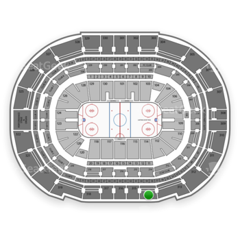 Tampa Bay Lightning at Amalie Arena Section 314 View