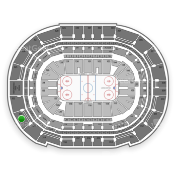 Tampa Bay Lightning at Amalie Arena Section 321 View