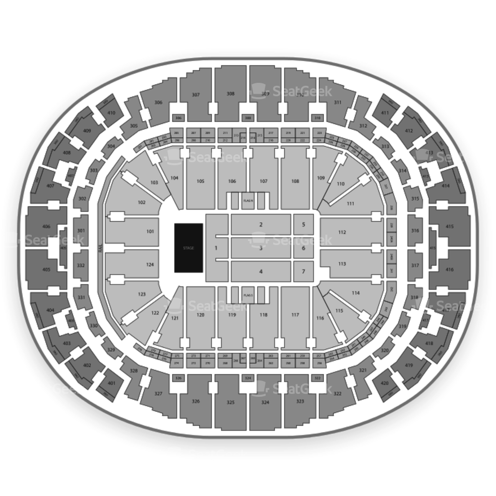 AmericanAirlines Arena Seating Chart Concert