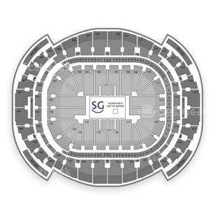 American Airlines Arena Seating Chart Comedy