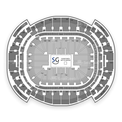 American Airlines Arena seating chart Bruno Mars