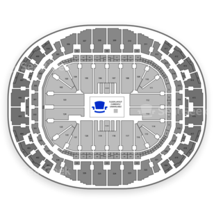 American Airlines Arena Seating Chart Parking