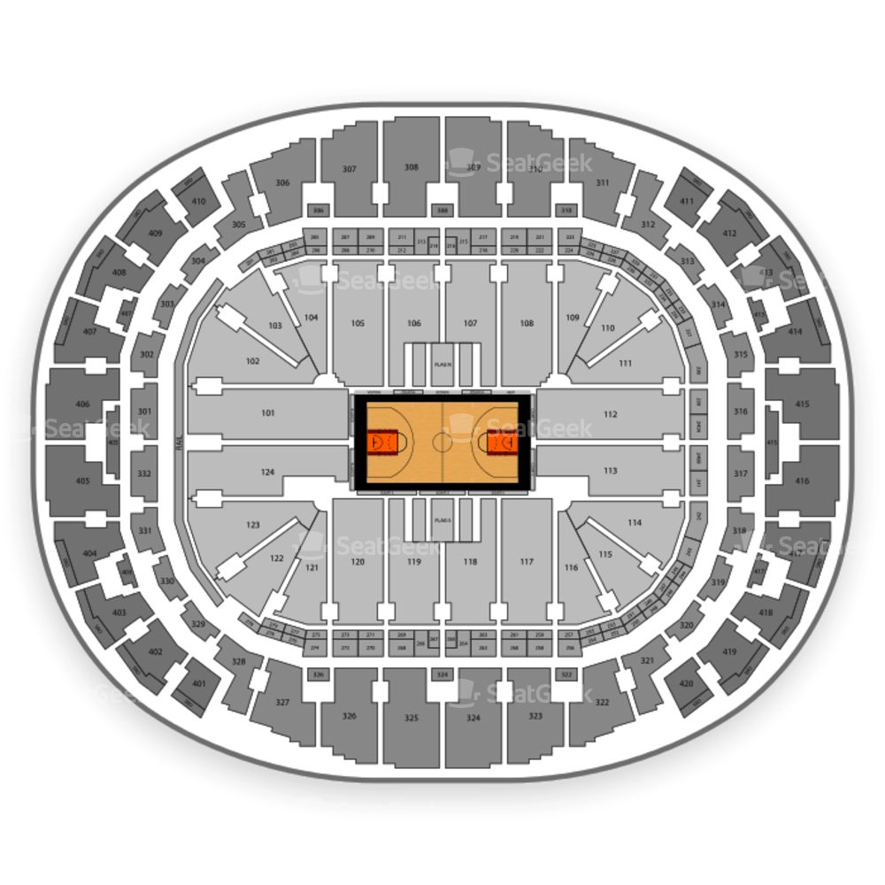 AmericanAirlines Arena Seating Chart NCAA Basketball