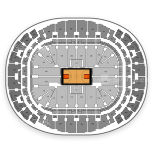 American Airlines Arena Seating Chart NCAA Basketball