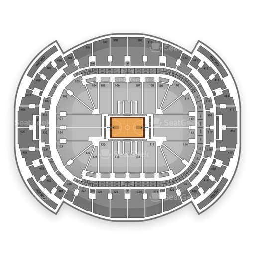 Example NBA Seating Chart