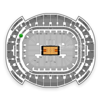 Miami Heat at American Airlines Arena Section 303 View