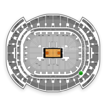 Miami Heat at American Airlines Arena Section 320 View