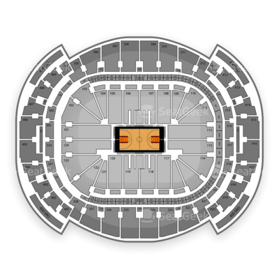 American Airlines Arena seating chart Miami Heat