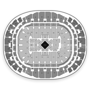 AmericanAirlines Arena Seating Chart Comedy