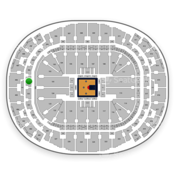 BIG3 at American Airlines Arena Section 301 View
