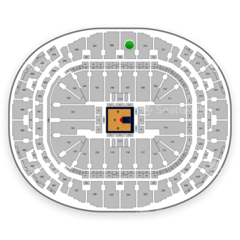 BIG3 at American Airlines Arena Section 309 View