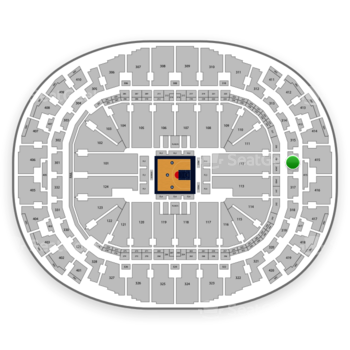 BIG3 at American Airlines Arena Section 316 View