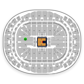 BIG3 at AmericanAirlines Arena Section 101 View