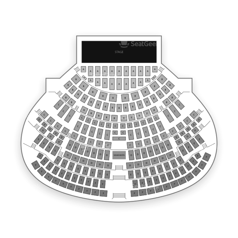 Montbleu Resort & Casino Seating Chart Theater