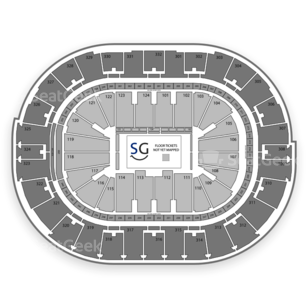 Smoothie King Center Seating Chart Comedy